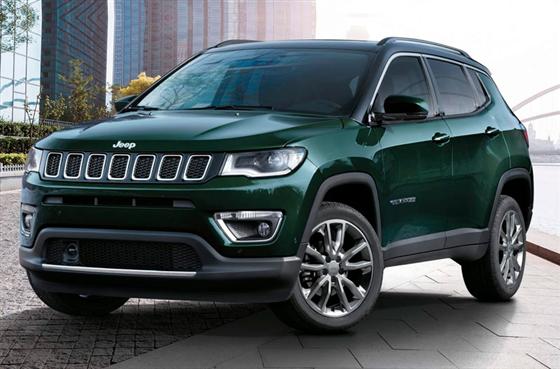 Jeep Compass 2021 ganha novos itens de série e parte de R$ 126.290