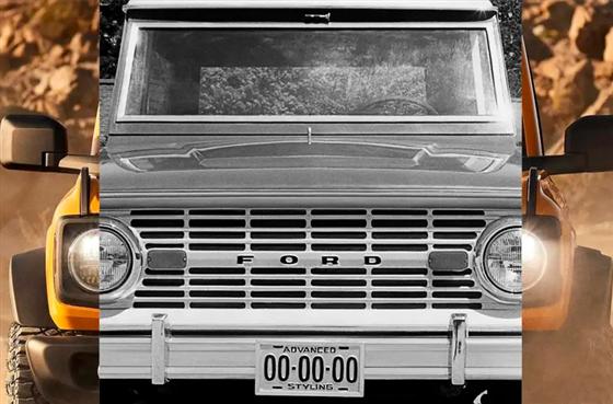 Ford Bronco será lançado dia 13 e virá também ao Brasil